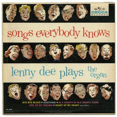 Songs Everybody Knows, Lenny Dee Plays The Organ