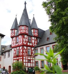 Прекрасная Германия. Рюдесхайм на Рейне. Ruedesheim am Rhein