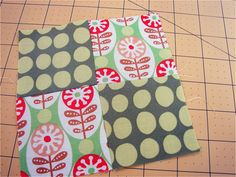 This year really must be the year I make my quilt, so this tutorial on piecing and matching seams is invaluable