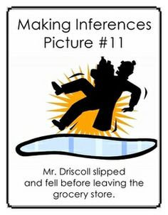 Free Inference Carousel:Making Inferences with Pictures and Captions - 32 page must see activity!