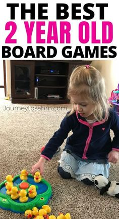 The Best Toddler Games for 2 Year Olds with Board Games Play games with your 2 year old! This list includes great board games for toddlers that will grow with your child. Play games with kids indoors Best Toddler Games, Games For Toddlers, Toddler Play, Parenting Toddlers, Toddler Preschool, Parenting Tips, Parenting Classes, Toddler Board Games, Toddler Speech