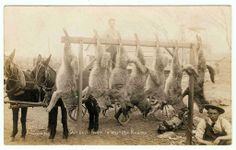 vintage hunting | Ricks Wax Museum: Vintage Hunting Photos » Black and Whites ...