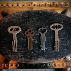 Vintage Prison Keys, I actually used one of them at one of our old jails. Does that make it a vintage prison? @Shannon Bellanca Story