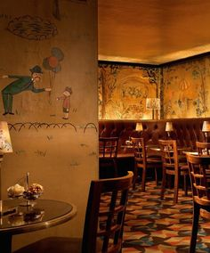 Mural at bemelmans bar at the carlyle hotel steven for Bemelmans bar mural