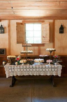 cake table ideas http://www.weddingchicks.com/2013/09/18/vintage-pastel-wedding/