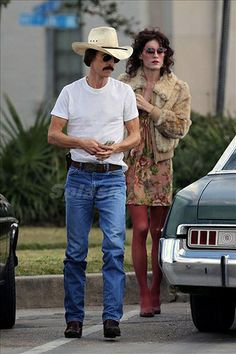 Jared Leto (right) - Dallas Buyers Club - film US - 2013 | Flickr - Photo Sharing!                    Riveting and gut wrenching...Jared Leto AMAZING!