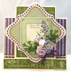 Made by Andrew Roberts Graphic 45 time to flourish step card