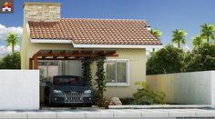 Casa - 2 Quartos - 52.5m² - Monte Sua Casa