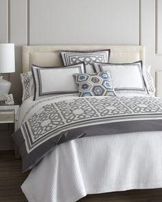 "home decor & interior design - ShopStyle: Horchow ""Parish"" Bed Linens Decor, Home Bedroom, Bedding Sets, Bed, Luxury Bedding, Bedroom Decor, Bed Linens Luxury, Home Decor, White Linen Bedding"
