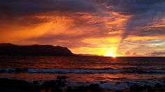 Tramonto a Mondello (Sicilia) Clouds, Sky, Celestial, Sunset, Outdoor, Daily Journal, Heaven, Outdoors, Sunsets