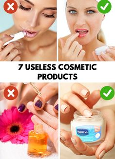 Amazing! Read on and discover the products you could throw away and stop buying. Find out 7 Useless Cosmetic Products!