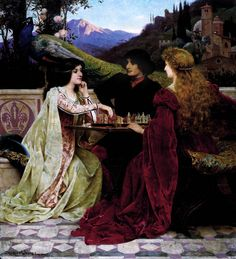 """Jacques-Clément Wagrez (1846-1908) """"The Chess Players"""" by Art & Vintage, via Flickr"""