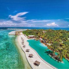 Amilla Fushi, Maldives ⠀ Photography by @thedreampics⠀ ⠀ ⠀ ⠀ ⠀ ⠀ ⠀ ⠀ ⠀ ⠀ ⠀ ⠀ ⠀ ⠀…