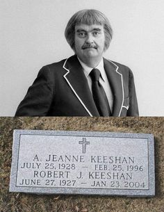 Robert James Keeshan (June 1927 – January was an American television producer and acto Cemetery Headstones, Old Cemeteries, Graveyards, Cemetery Angels, Cemetery Art, Peace In The Valley, Famous Tombstones, Famous Graves, Old Hollywood Stars