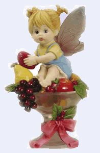 Sugar Plum Fairie - From Series Six of the My Little Kitchen Fairies collection