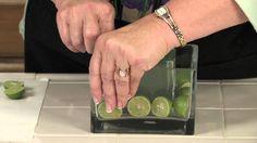DIY Bride's Lime Wedding Centerpieces : Floral Arrangements for Weddings...