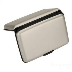 Waterproof Business ID Credit Card Wallet Holder Aluminum Metal Case Box - US$4.99