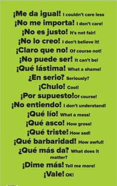 Here are 15 Spanish Learning Hacks I used to become Fluent Fast! Learn how to speak everyday, conversational Spanish now. Here are 15 Spanish Learning Hacks I used to become Fluent Fast! Learn how to speak everyday, conversational Spanish now. Spanish Grammar, English Vocabulary Words, Spanish English, English Phrases, Spanish Language Learning, English Writing, Teaching Spanish, Spanish Classroom, Spanish Activities