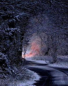 Winter Road, Missouri