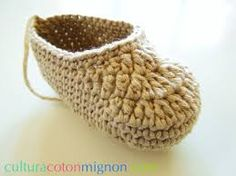 Resultado de imagen para botines a crochet de bebe pinterest paso a paso