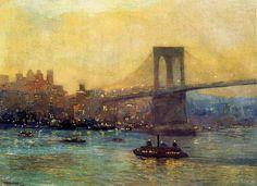 Edward Willis Redfield | Impressionist Landscape painter | Tutt'Art@ | Pittura * Scultura * Poesia * Musica |