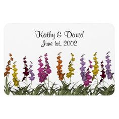 Wedding Assorted Flowers Magnets http://www.zazzle.com/wedding_assorted_flowers_magnets-160384408982359237?rf=238631258595245556