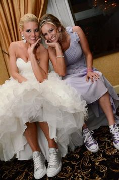 7da3c837efc For any doubters of the converse bride plan Converse For Wedding