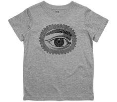 El Cheapo All Seeing Eye Toddler Grey Marle T-Shirt