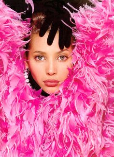 Christy Turlington by Gilles Bensimon, 1987 - 80s Vintage Fashion