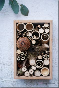 beautiful insect hotel! great blog
