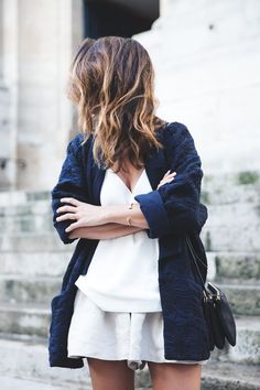 fashion blogger outfit white