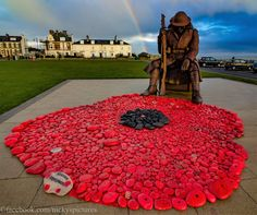 We will remember them - Tommy at Seaham Remembrance Day Activities, Remembrance Day Art, Veterans Memorial Day, Crochet Poppy, Ww1 History, Poppy Craft, Royal British Legion, Remember Day, Armistice Day