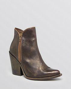 Jeffrey Campbell Pointed Toe Booties - 1964 Zipper   Bloomingdale's