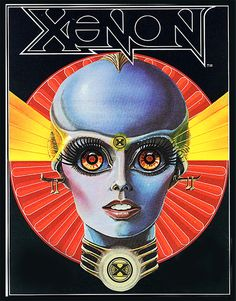 Paul Faris - Xenon - Sci-Fi-O-Rama A disco influenced Sci-fi flyer produced for the 1980 Bally Midway Pinball Machine 'Xenon'. Science Fiction Art, Album Art, Retro Futuristic, Pinball Art, Scifi Fantasy Art, Retro Art, Futuristic Art, Space Art, 70s Sci Fi Art