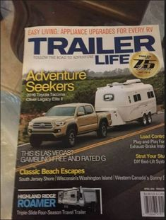 Trailer Life Magazine - New Products by Bruce W. Smith   #rv #rving #homeiswhereyouparkit #traveltrailer #rvlife #rvliving #airstreamlife #rvlifestyle #optoutside #traveltrailerlife #rvstorage #weight distribution hitch #weight distribution hitch products #rvtips #rvorganization #rvfulltime #gorving #rvcamping