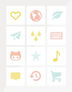 Free icons for bloggers, including sources for social media buttons. From Breanna Rose.