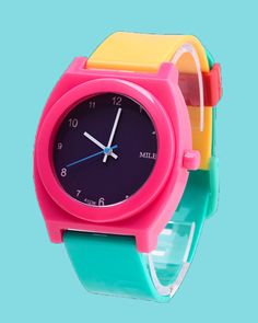 Block Color Watches   http://inuinu.com/collections/accessories/products/block-color-watches-1?variant=32393568967