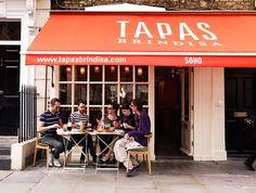 The encyclopedic menu at Tapas Brindisa ranges from traditional (acorn-fed chorizo) to deliciously inventive (air-cured tuna loin) London Map, London Travel, London Restaurants, Great Restaurants, Tuna Loin, Spanish Cuisine, Tapas Bar, London Life, British Isles