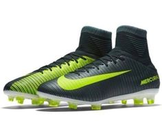 Nike Mercurial Veloce III DF CR7 FG Soccer Cleats Mens 11 Seaweed 852518 376 #Nike