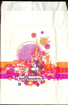 Retro disney bag - I remember these bags!
