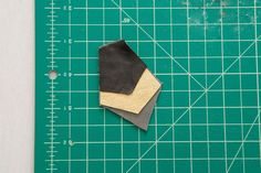 Leather scraps never looked so glamorous.