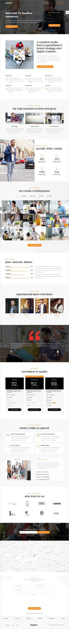 TwPro is a modern, creative and unique responsive 3in1 HTML5 #bootstrap template for #startups #landing page website download now➩ https://themeforest.net/item/gopro-startup-landing-page/18946385?ref=Datasata