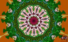 Title  Garden Party #2  Artist  Elizabeth McTaggart  Medium  Digital Art - Digital Art #tessellations #fun #cards