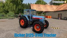 Eicher 3125-3145 Tractor v1.0 for FS19