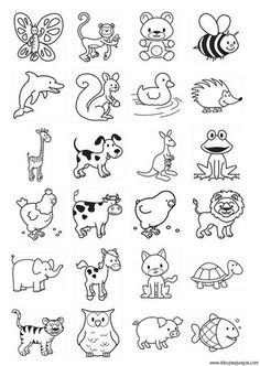 Free coloring pages, crafts, drawings and photographs. Children can use these images to learn about many different subjects. Free Coloring Sheets, Colouring Pages, Coloring Books, Doodle Drawings, Easy Drawings, Doodle Art, Doodle Ideas, Simple Animal Drawings, Amazing Drawings