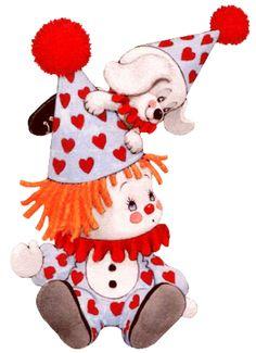 ruth morehead clowns | Ruth Morehead | San Valentín | IMÁGENES tamaño grande PARA BAJAR