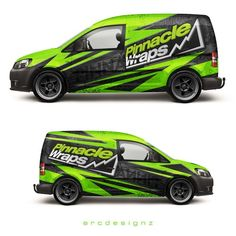 VW caddy wrap for pinnacle wraps