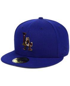 best website bd993 2cef8 New Era Los Angeles Dodgers Camo Capped 59FIFTY-FITTED Cap   Reviews -  Sports Fan Shop By Lids - Men - Macy s