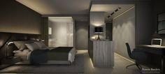 Proyecto: Rehabilitación Apartamento. Primeros bocetos Diseño: Ramón Bandrés