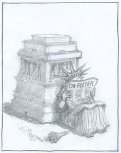 Karikatur der Woche : Der visuelle Kommentar von Peter Gut für die Neue Zürcher Zeitung